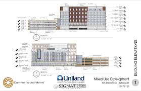 Drug Rehabilitation Center Floor Plan Termini And Uniland Pitch Ellicott Street Site For Emerson