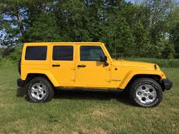 yellow jeep wrangler unlimited review 2015 jeep wrangler unlimited sahara is ready for off road