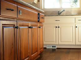 Refinished Cabinets Cabinet Refacing A Popular Alternative To Replacing Mr Done