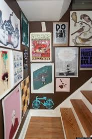 hang poster without frame 10 poster decorating ideas that won t remind you of a dorm room