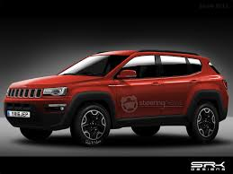 jeep compass 2017 trunk space 2017 jeep patriot compass replacement jeep 551 rendering