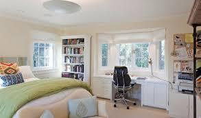 Desk With Bed by Bed Desk Combos Save Space And Add Interest To Small Rooms