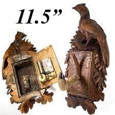 antique black forest desk musical mechanical hat coat rack 11 5