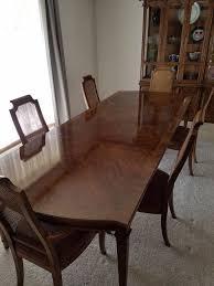 drexel heritage tryon manor dining room set furniture in