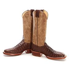 justin s boots sale bootdaddy collection with justin caiman alligator cowboy boots brown