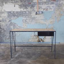 Schreibtisch 1m Lang Holz Schreibtisch Stahl Modern Study Desk By U0026new U0026new