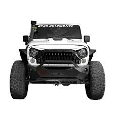 1966 jeep gladiator white front topfire grille grid grill for jeep wrangler jk 2011