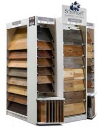 somerset hardwood flooring total options display set up