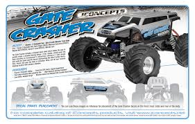 monster jam rc truck illuzion u2013 traxxas monster jam replicas gate crasher jconcepts