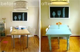light colored kitchen tables creative painted kitchen table wonderful decoration ideas classy