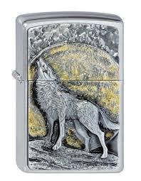 arsenal zippo lighter zippo wolf at moonlight emblem 2003038 ebay