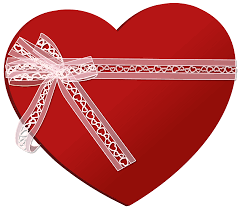 heart ribbon heart with heart ribbon png clip image gallery yopriceville