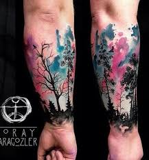 25 trending sky tattoos ideas on pinterest watercolor tattoos