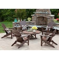patio composite adirondack rocking chairs recycled plastic