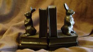 rabbit bookends bookends wynbrier home furnishings gifts colorado style
