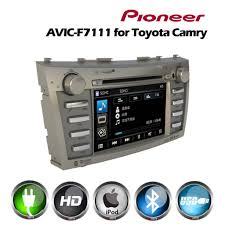 toyota camry 2007 audio system pioneer avic f7111 fit navigation system with 5 1 channel