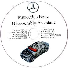 mercedes benz disassembly assistant workshop manual w210 w220 w211