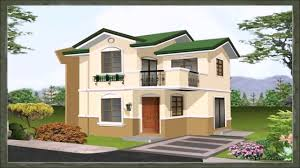 asian house design with floor plan youtube