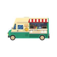 camion cuisine mobile bannière ou menu pour festival de camion de nourriture affiche de