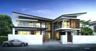 modern two house plans two floor houses modern two home 1 and a half storey house