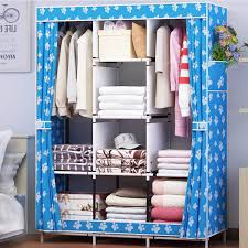 Functional Bedroom Furniture Modern Simple Home Stylish Portable Closet Non Woven Storage
