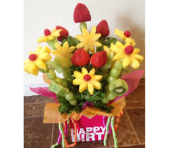 fruit bouquet delivery fruit bouquets delivery burford on flowers