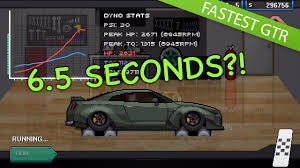 6 5 Second Pixel Car Racer Tune Fastest R35 Gtr No Nitrous Youtube