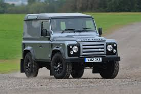 land rover track land rover defender xtech auto express