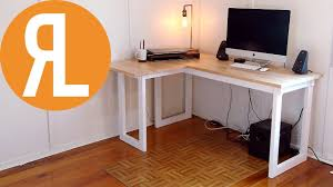 Corner Desk How To Make A Corner Desk On A Budget