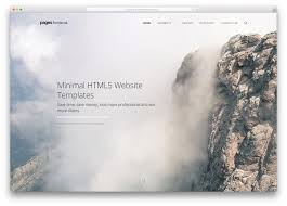 18 best minimal html5 css3 website templates 2017 colorlib