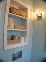 Recessed Bathroom Shelving Valuable Design Ideas Recessed Bathroom Shelves Delightful 2017