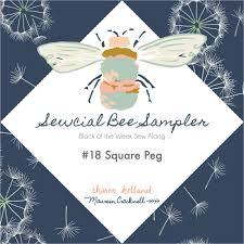 sewcial bee sampler block 18 u2014 sharon holland designs