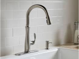 kohler kitchen faucets canada kohler canada bellera pull kitchen sink faucet kitchen
