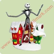 2004 skellington nightmare before hallmark ornament