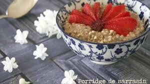 cuisiner sarrasin porridge de sarrasin recette par dans la cuisine de gin