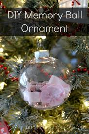 diy memory ornament a s impression resource for busy