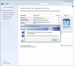 performances du bureau pour windows aero desktop performance for windows aero is low