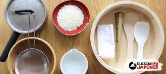 ustensile de cuisine japonaise réalisez facilement un riz à sushi cuisine japon