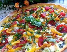 cuisine epinard tarte aux épinards tomates cerise feta basilicla cuisine d agnès
