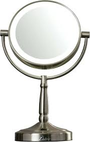 zadro lighted makeup mirror cordless lighted makeup mirror cordless dual sided led lighted