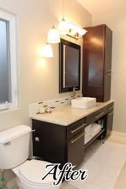 bathroom makeover on the cheap u2014 beckwith u0027s treasures