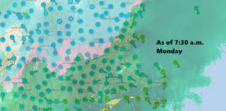 forecast as snow changes to rain watch for messy a m commute