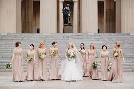 long taupe bridesmaids dresses elizabeth anne designs the