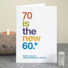 70th Birthday Cards Funny 70th Birthday Card 70 Card Sarcastic 70th Birthday