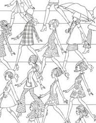 fashion design coloring pages the portable coloring book fashion designs 31 stress