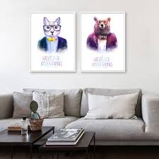 hipster home decor mock up poster on the wall of hipster living room stock photo