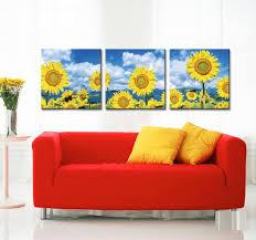 Sunflower Home Decor Online Get Cheap Rustic Canvas Aliexpress Com Alibaba Group