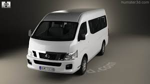 nissan caravan 2014 360 view of nissan urvan nv350 lwb hr 2012 3d model hum3d store