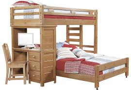 Find Bunk Beds Creekside Taffy Student Loft Bed With Desk Beds
