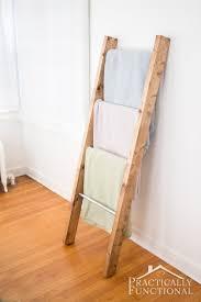 Diy Folding Chair Storage Diy Blanket Ladders Lolly Jane